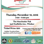 Pints for Prostate 2016